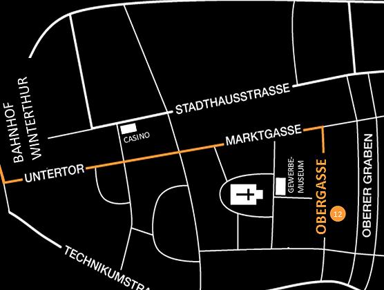 Textilhalle Lageplan Adresse