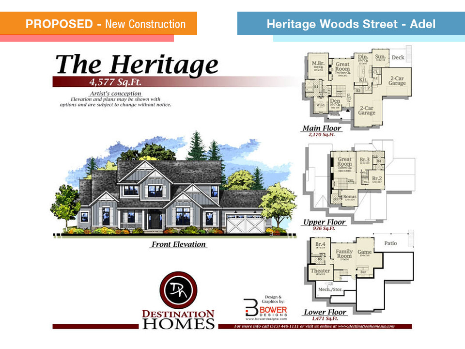 Heritage Woods Street - Adel