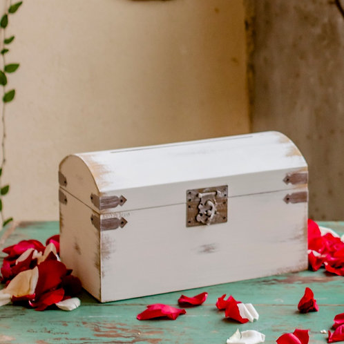 Rustic Cream Card box rental