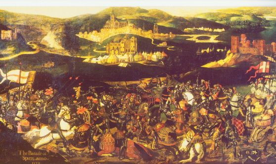De Slagen bij Guinegatte