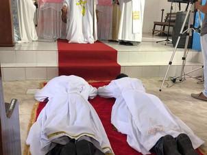 Ordenação Diaconal na Festa de São Benedito da Barreirinha e Nossa Senhora Menina, em Viana-MA