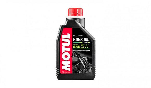 Motul Fork Oil Expert Light 5W Technosynthese Suspension Fluid 1 Litre 1L