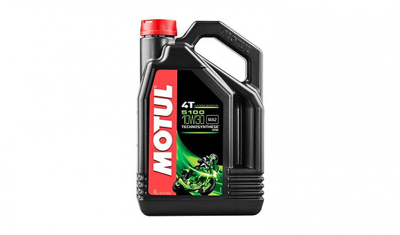 Motul 5100 4T 10W-30 4 Stroke Motorcycle 10W30 Engine Oil 4 Litres 4L