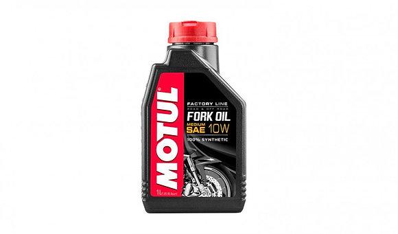 Motul Fork Oil Factory Line Medium 10W Motorcycle Suspension Fluid 1 Litre 1L