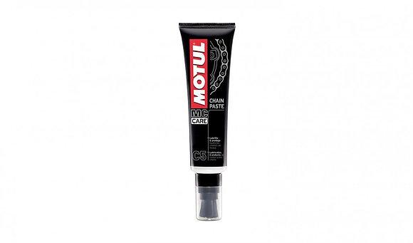 Motul C5 Chain Paste & Brush For Motorcycles - 150ml