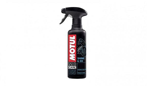 Motul E5 Shine And Go Motorcycle Plastic Cleaner - 400ml
