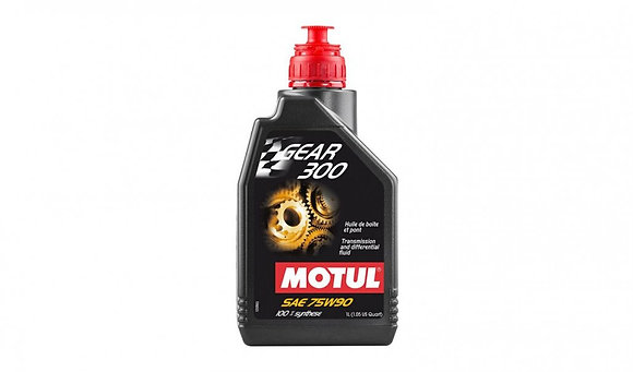 Motul Gear 300 75W-90 Racing Gearbox Oil 100% Ester Synthetic - 1 Litre