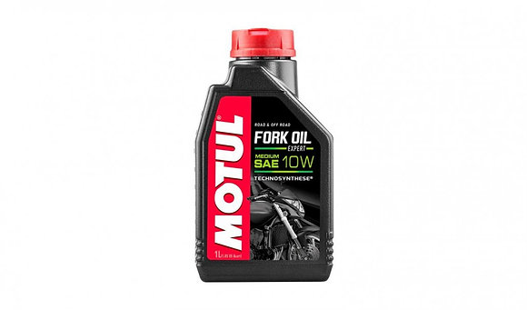 Motul Fork Oil Expert Medium 10w Technosynthese Suspension Fluid 1 Litre 1L