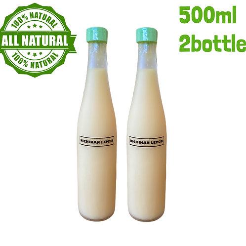 100%果汁500ml×2本