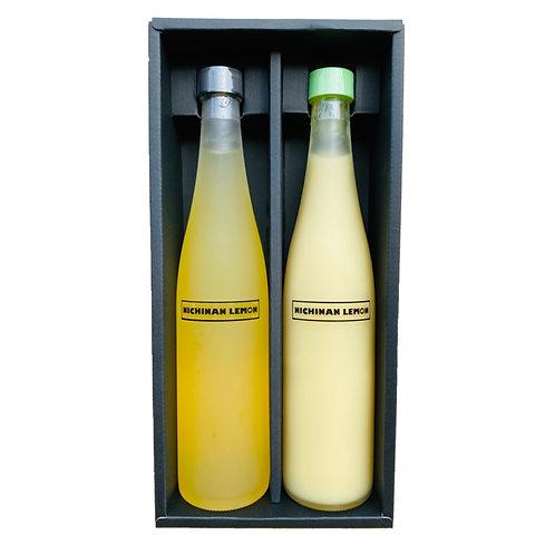 日南レモンシロップ&100%果汁ギフトセット500ml