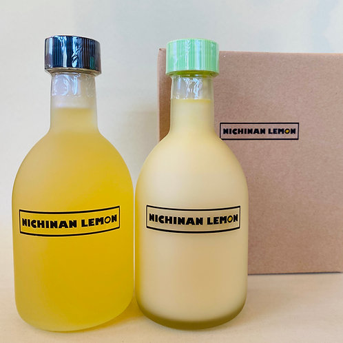 日南レモンシロップ&100%果汁ギフトセット300ml