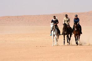 Rajd po omańskiej pustyni