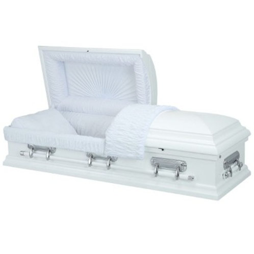 IMMACULATE WHITE CASKET