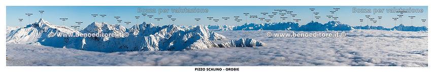 Pizzo Scalino, monte Palino, Pizzo Painale, Alpi Orobie, pizzo di Coca, testata panoramica