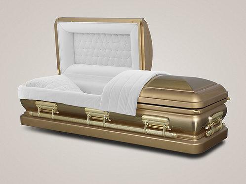 EXQUISITE GOLD CASKET
