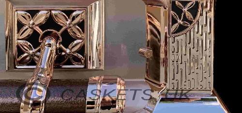 Zenith Metal Casket Side Pillar