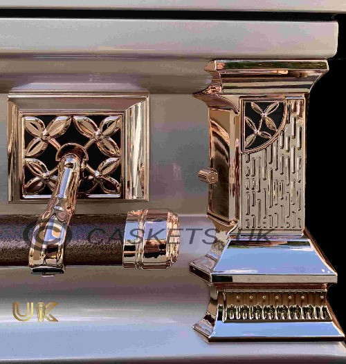 Zenith Metal Casket Side Pillar