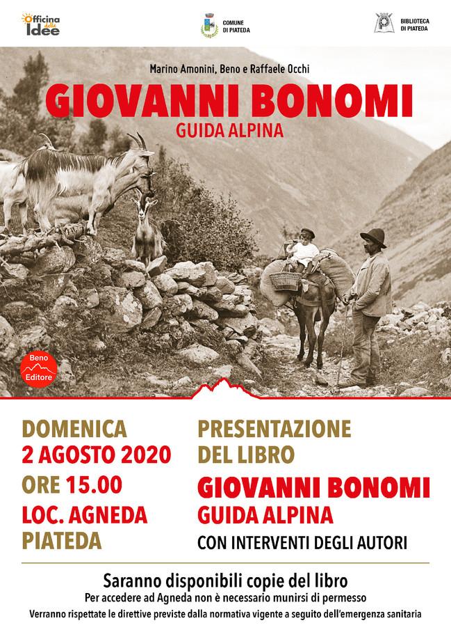 Giovanni Bonomi. Guida alpina - Presentazione del nuovo libro