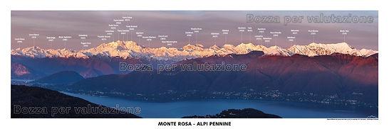 monte rosa lagomaggiore alpi pennine testata panoramica