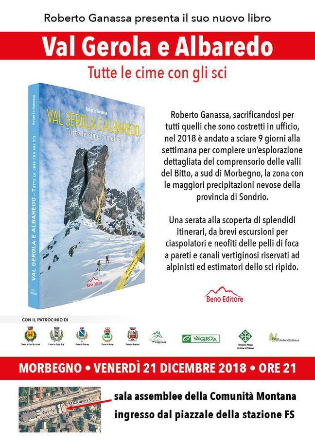 """Presentazione del libro """"Val Gerola e Albaredo. Tutte le cime con gli sci"""""""