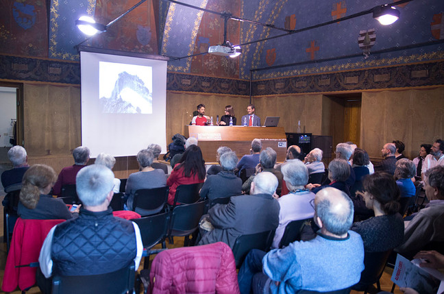 """""""Alfredo Corti"""" al Museo della Montagna: qualche foto"""