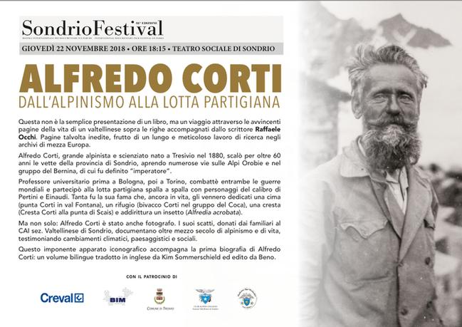 Alfredo Corti al Sondrio Festival