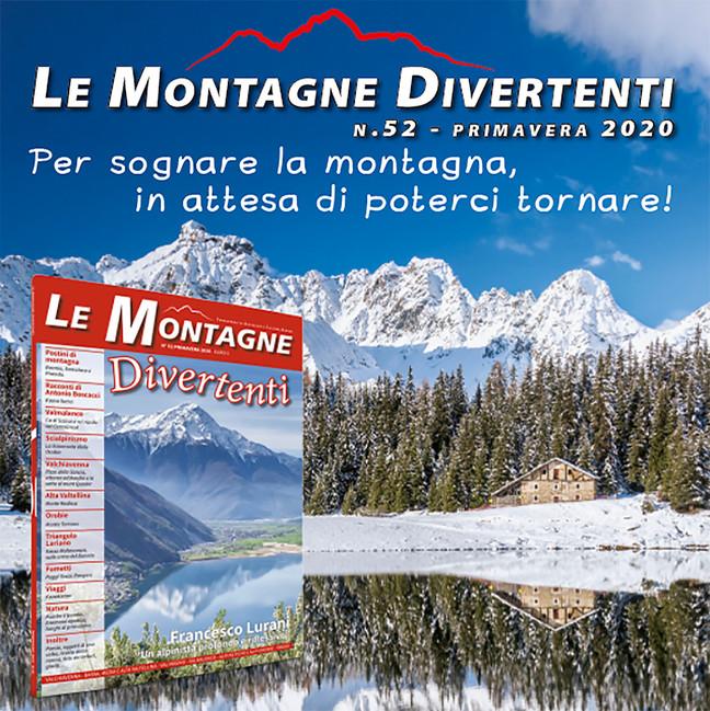 In edicola Le Montagne Divertenti n. 52 - Primavera 2020