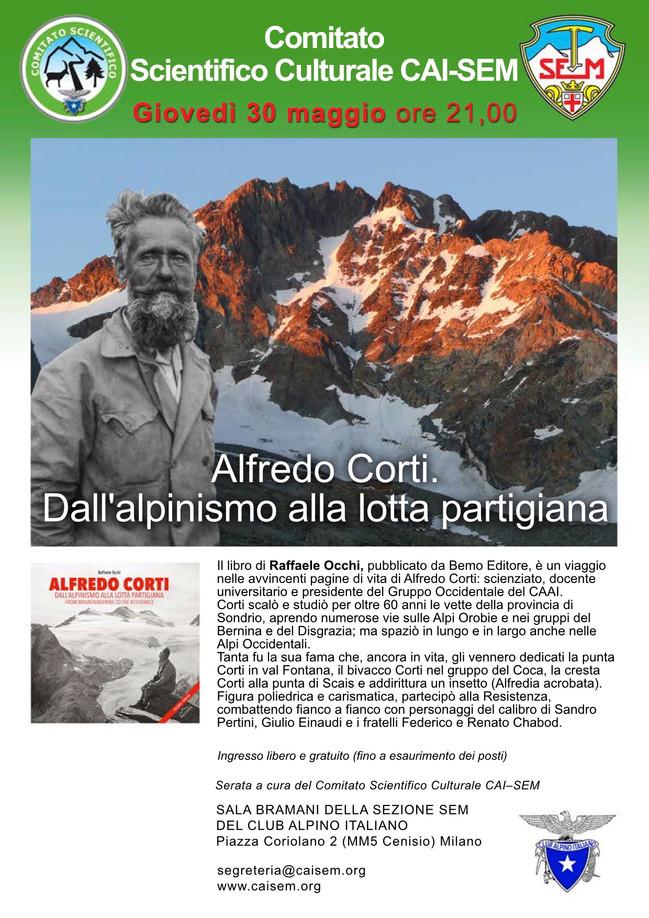 """CAI-SEM fa scoprire """"Alfredo Corti"""" a Milano"""