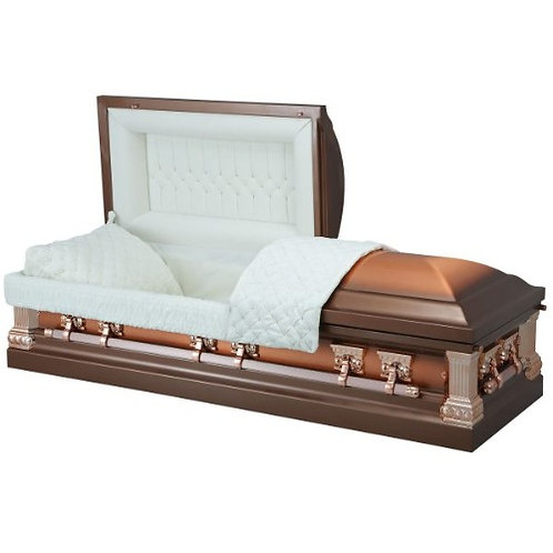 RISING COPPER CASKET