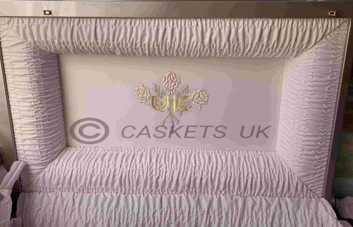 Zenith Metal Casket Interior Lid