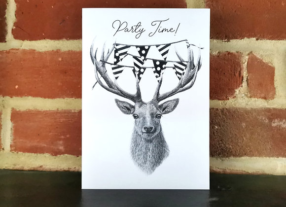 Party Stag Card