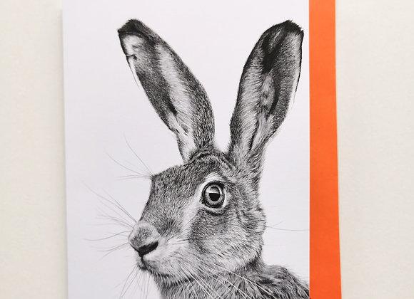 'Harry Hare' card