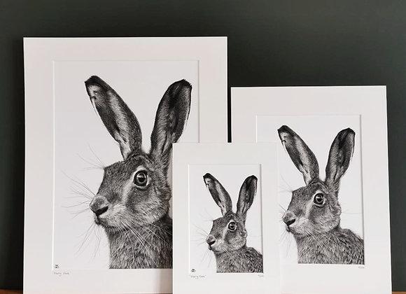 'Harry Hare' print