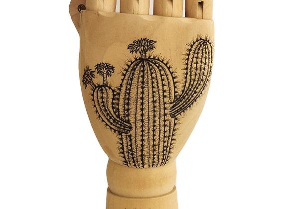 Cactus Wooden Hand