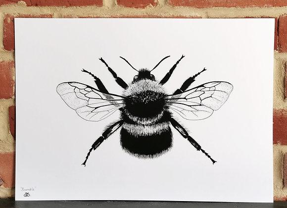 'Bumble' print