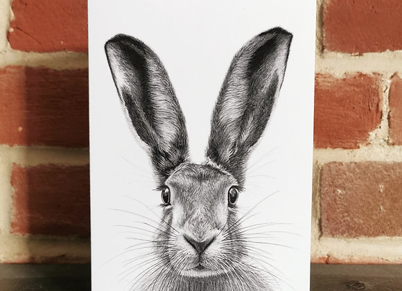 'Norfolk Hare' card