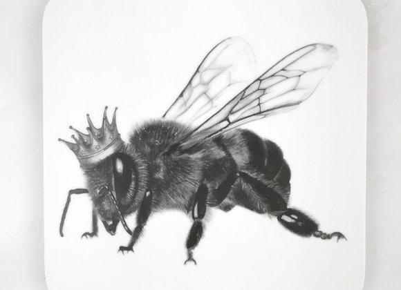 Queen Bee single coaster