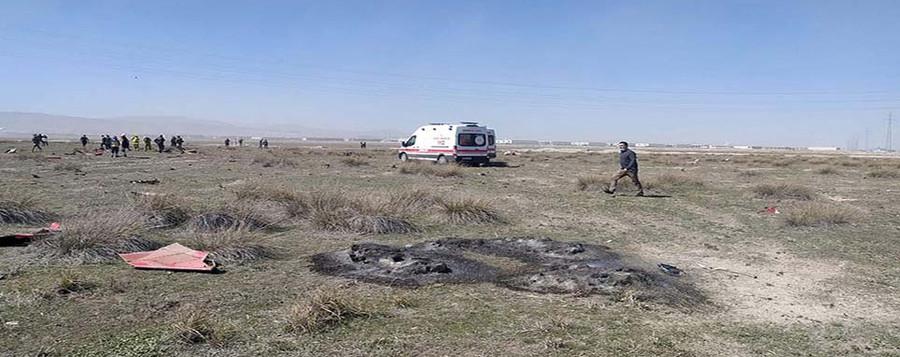 Konya'da 'Türk Yıldızları' uçağı düştü: 1 şehit