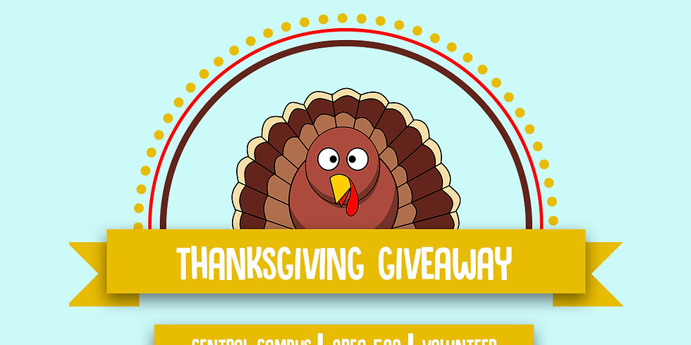 Thanksgiving Give Away