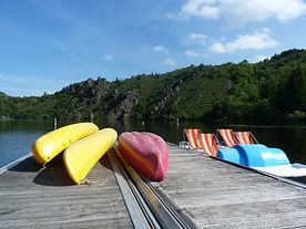 Venez louer un kayak, un canoé ou un pédalo