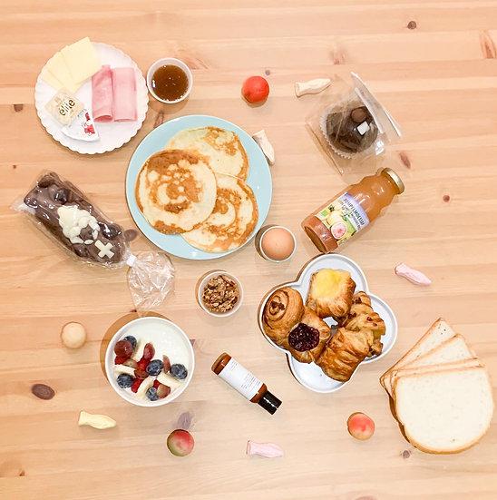 Sint-ontbijtpakket (met bubbels)