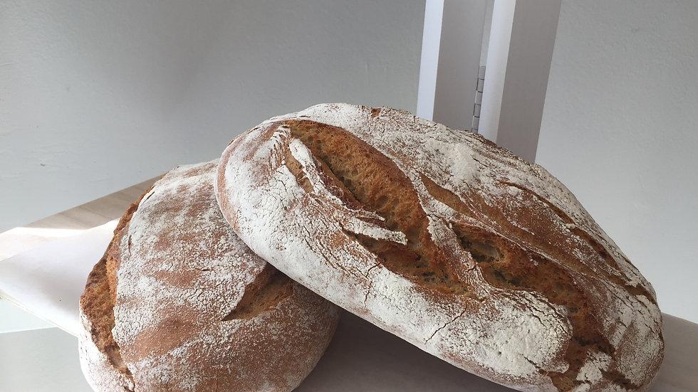 Wit rustiek brood