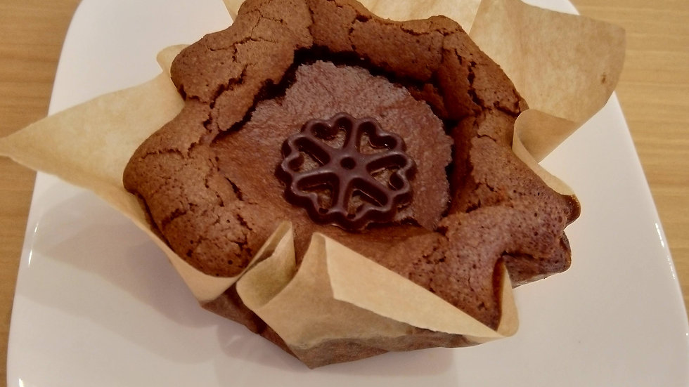 Zachte chocoladetaart