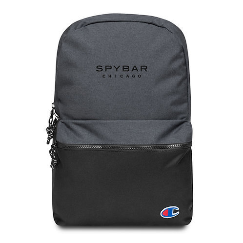 Spybar Chicago - Embroidered Logo - Champion Backpack