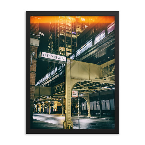 Spybar Chicago - Color Signage - Matt Reeves - % of proceeds go to the artist