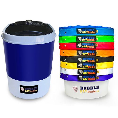 BUBBLEBAGDUDE Bubble Bags Machine 5 Gallon 8 Bag Set - 5 Gallon 110 Volts