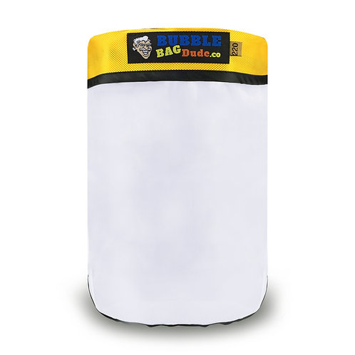 BUBBLEBAGDUDE 220 Micron Zipper Bag for 5gal Mini Washing Machin