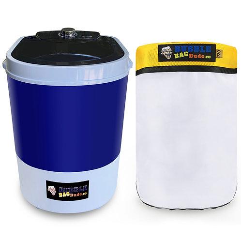 BUBBLEBAGDUDE Bubble Machine 5 Gallon with 220 Micron Zipper Bag