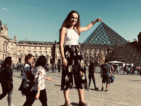 The One Where They Got Lost In the Louvre: Louving my time abroad