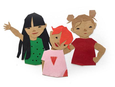Charlotte, Stella and Miriam